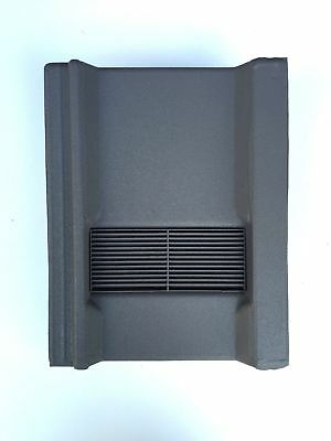 Roof Tile Vent To Fit Marley Wessex Roof Tiles | Grey Granular | 8 Colours