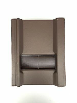 Roof Tile Vent To Fit Marley Wessex Roof Tiles | Brown Smooth | 8 Colours
