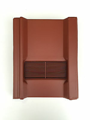 Roof Tile Vent To Fit Marley Wessex Roof Tiles | Red Smooth | 8 Colours
