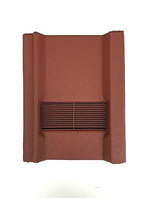 Roof Tile Vent To Fit Marley Wessex Roof Tiles | Red Granular | 8 Colours