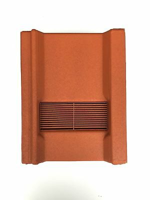 Roof Tile Vent To Fit Marley Wessex Roof Tiles | Terracotta Granular | 8 Colours