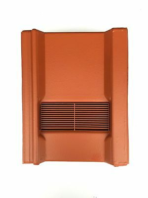 Roof Tile Vent To Fit Marley Wessex Roof Tiles | Terracotta Smooth | 8 Colours