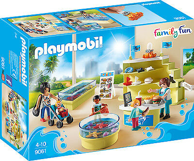 "PLAYMOBIL® family fun  9061   "" Aquarium-Shop "", NEU & OVP"