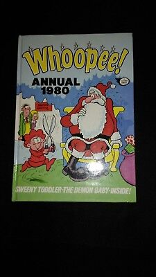 Whoopee 1980 Vintage U.K Comic Book Annual