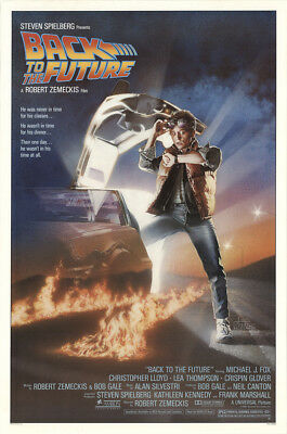 Back to the Future 1985 27x41 Orig Movie Poster FFF-12064 Rolled U.S. One Sheet