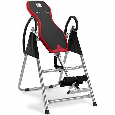 BH Fitness Gravityx G400RF Table d'inversion Inclinaison verticale- Repose-pieds