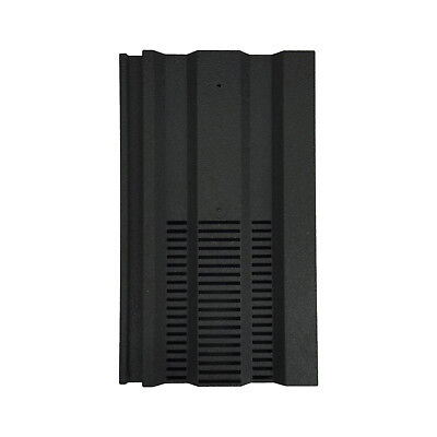 Roof Tile Vent To Fit Redland 49, Marley Ludlow Plus | Black | 15 Colours