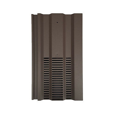 Roof Tile Vent To Fit Redland 49, Marley Ludlow Plus | Brown | 15 Colours