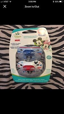 nuk pacifier 6-18 Months and Clip