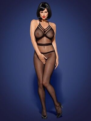 Bodystocking Catsuit SeXy Anzug Overall Body Gogo Clubwear Dessous Ouvert Erotik