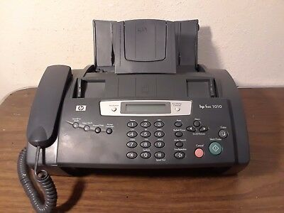 Hp 1040 Inkjet Fax Machine W/built-in Telephone Handset - Print, Scan & Send Fax