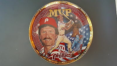 Mike Schmidt Philadelphia Phillies The Ultimate Competitor 1994 Collectors Plate