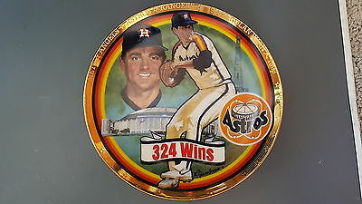 Nolan Ryan Million Dollar Player 1993 Sports Impressions Collectors Plate