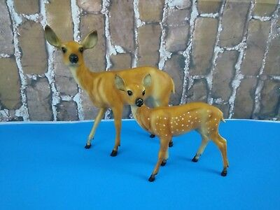 Collectible Vintage BREYER Pair of Deer LOT 10