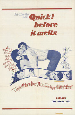 Quick, Before It Melts 1965 27x41 Orig Movie Poster FFF-16428 Fine, Very Good