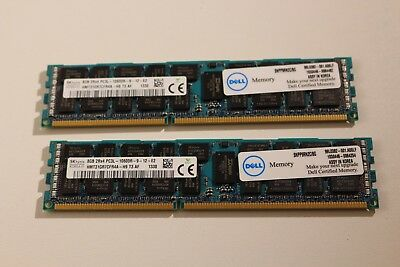 SK Hynix HMT31GR7CFR4A-H9 8 GB DDR3 2Rx4 PC3L-10600R ECC Dell / HP / IBM TOP