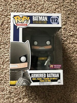 Batman: The Dark Knight Returns - Armored Batman Funko Pop #112 (NIB)