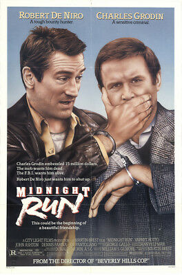 Midnight Run 1988 27x41 Orig Movie Poster FFF-10456 Rolled Robert De Niro
