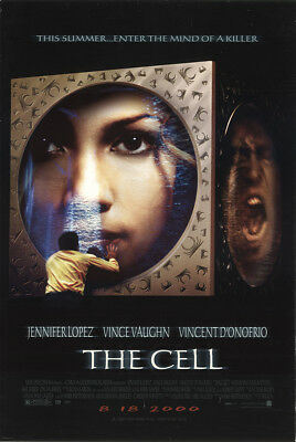 The Cell 2000 27x41 Orig Movie Poster FFF-10282 Rolled Fine, Very Good