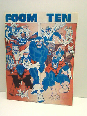 FOOM #10 with X-men art, Marvel 1975