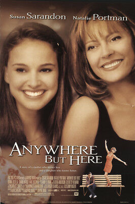 Anywhere But Here 1999 27x41 Orig Movie Poster FFF-10127 Rolled Fine, Very Good