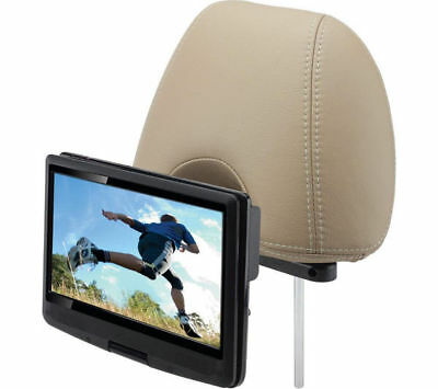"10"" Car Headrest DVD Player In Car Portable DVD Rechargeable & Car Mounting Kit"