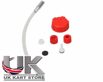 Benzintank rot Verbindungs-Set UK Kart Store