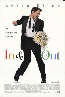 In & Out 1997 27x41 Orig Movie Poster FFF-22065 Rolled Kevin Kline U.S. One S...