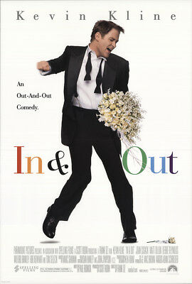 In & Out 1997 27x41 Orig Movie Poster FFF-22060 Rolled Fine, Very Fine
