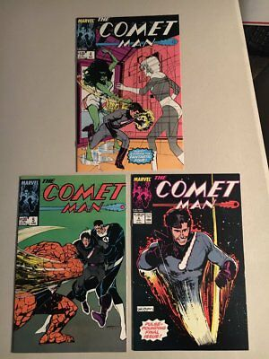COMET MAN LIMITED SERIES 1-6 complete 1987 great Bill Sienkiewicz' covers!