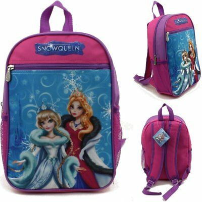 """15"""" Snow Queen Character Backpack Bags Wholesale Lot 24 Multi Color Design New"""
