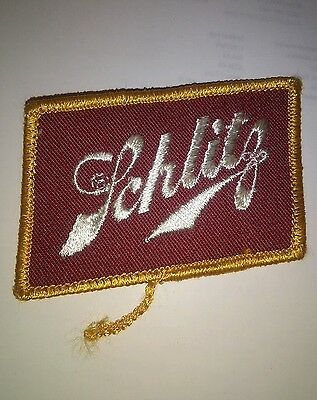 Schlitz Beer Embroidered Patch Insignia Emblem