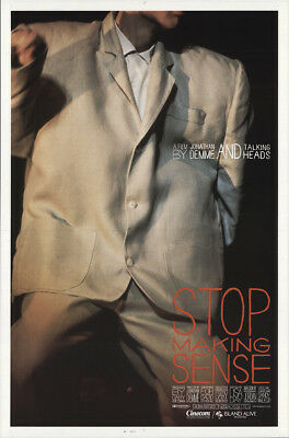 Stop Making Sense 1984 27x41 Orig Movie Poster FFF-19236 Rolled Very Fine