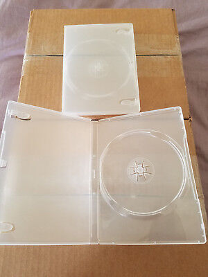 10 New Clear Single DVD Cases 14MM  FREE SHIPPING