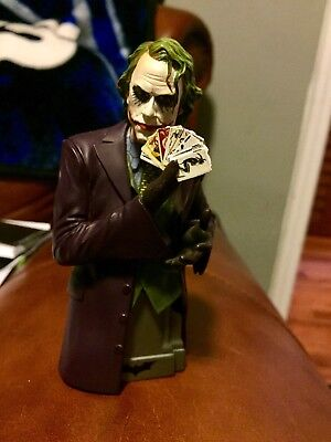 The Joker Bust Statue Heath Ledger DC Direct #390 Limited edition