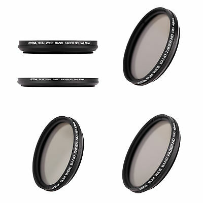 Fotga 49mm Slim Fader Variable ND Filter Adjustable Neutral Density ND2 to C9W8
