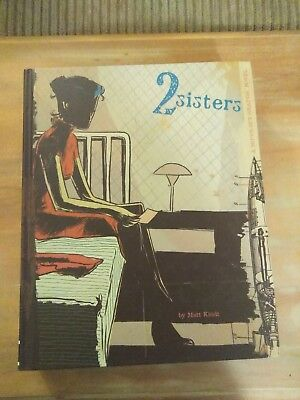 2 sisters A super-spy graphic novel by Matt Kindt