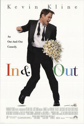 In & out 1997 27x41 Orig Movie Poster FFF-19101 Rolled Very Fine Kevin Kline
