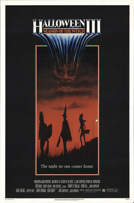 Halloween III: Season of the Witch 1982 27x41 Orig Movie Poster FFF-19073 Horror