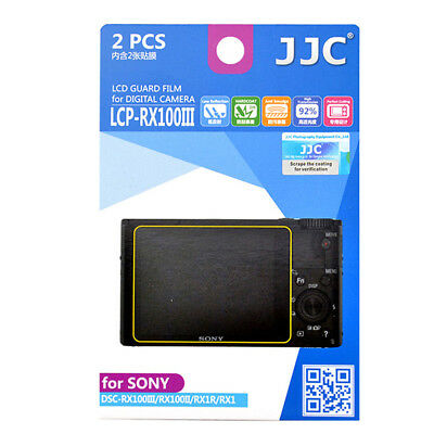 LCD Screen Protection for Sony DSC-RX100M4 RX100 IV  RX100III RX100II RX1R RX1