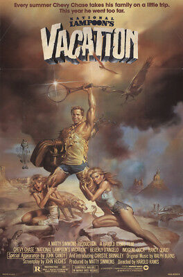 National Lampoon's Vacation 1983 27x41 Orig Movie Poster FFF-13408 Chevy Chase
