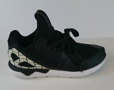67e86f94c11e Adidas Tubular Runner Womens S81257 Core Black White Running Shoes Size 7