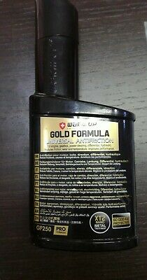 WARM UP Gold Formula GF250 Additivo Antiattrito Olio Motore Cambio Manuale 250ml