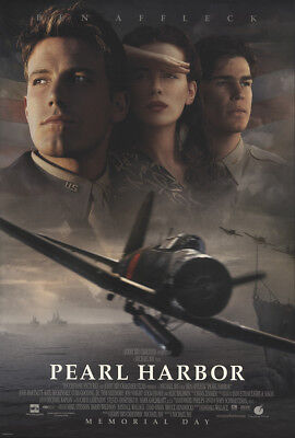 Pearl Harbor 2001 27x41 Orig Movie Poster FFF-23605 Rolled Near Mint, Very Fine