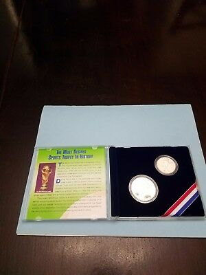 Special Edition World Cup '94 Collector's Set Commemorative Silver Proof Dollar