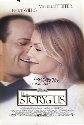 The Story of Us 1999 27x41 Orig Movie Poster FFF-23067 Rolled Michelle Pfeiffer