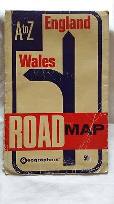 Wales Road Map by Geographers' A-Z Map Company (Sheet map, folded, 2012)