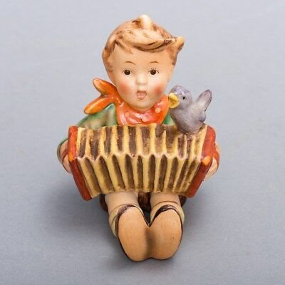 "Vintage Goebel Hummel Figurine ""Let's Sing"" Boy TMK 2 Full Bee 3-5/8"" Tall"