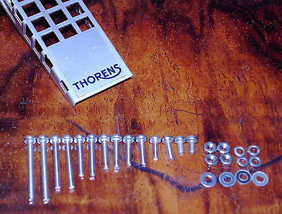 CARTRIDGE MOUNTING FITTING KIT cheese head SCREWS/specific for THORENS HEADSHELL