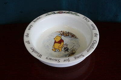 Royal Doulton Disney Winnie The Pooh and Eeyore Bowl  - Children's Collectible